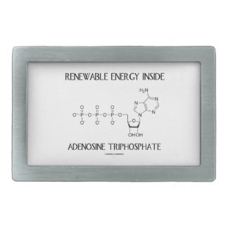 Renewable Energy Inside Adenosine Triphosphate Belt Buckle