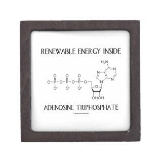 Renewable Energy Inside Adenosine Triphosphate Jewelry Box