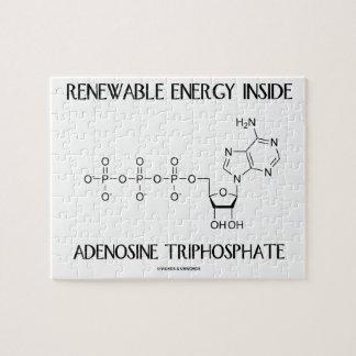 Renewable Energy Inside Adenosine Triphosphate Jigsaw Puzzle
