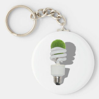 RenewableResources062210Shadows Basic Round Button Keychain