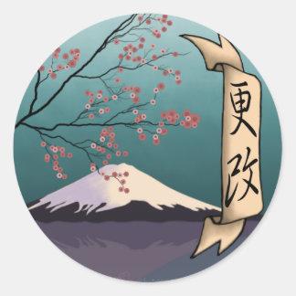 Renewal, Classic Round Sticker