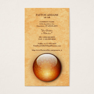 Renewal Jewel Vertical Business Card