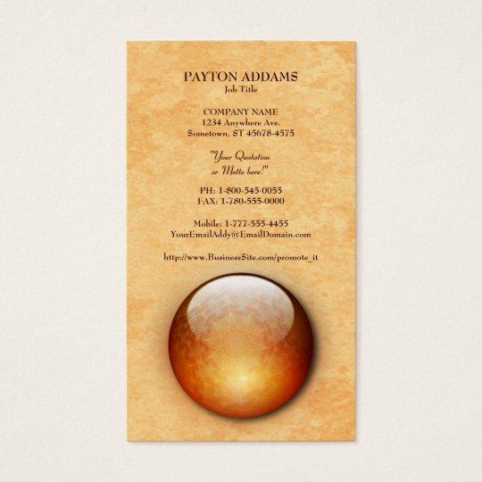 Renewal Jewel Vertical Business Card