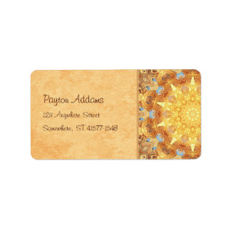 Renewal Mandala Address Avery Label Address Label
