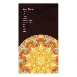 Renewal Mandala Vertical Business Card