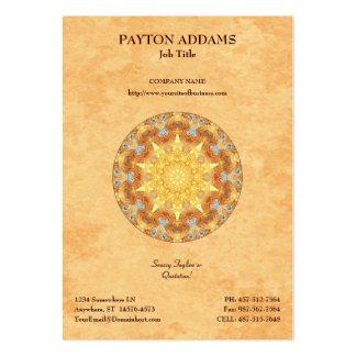 Renewal Mandala - Vertical Business Card