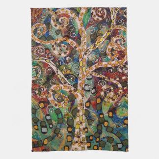 Renewal (painting) Tea Towel