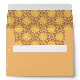 Renewal Patterned Envelope envelope