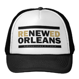 Renewed Orleans Trucker Hat