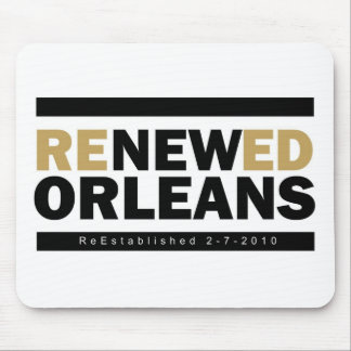 Renewed Orleans Mouse Pad