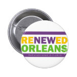 Renewed Orleans Pinback Button
