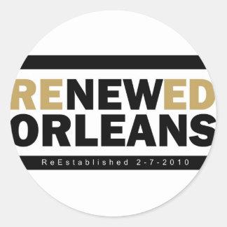 Renewed Orleans Stickers
