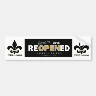 ReNewedOrleans Bumper Sticker