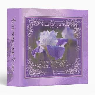 Renewing Our Vows - Album - Iris 3 Ring Binder