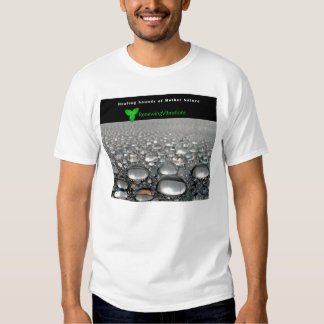 Renewing Vibrations. Soothing Heavy Rain. T-Shirt