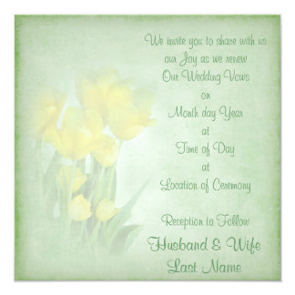 Renewing Wedding Vows Card