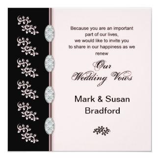Renewing Wedding Vows - Invitation