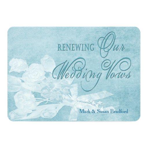 Renewing Wedding Vows Invitation