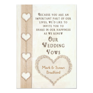 Wedding Vow Renewal Invitations Announcements Zazzle