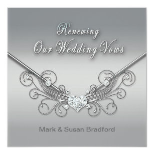 Vow Renewal Wedding Invitations Zazzle