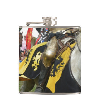 Renfest Knight Hip Flask