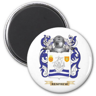 Renfrew Coat of Arms (Family Crest) 2 Inch Round Magnet
