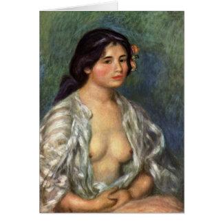 Renior Fine Art Gabriella Greeting Card