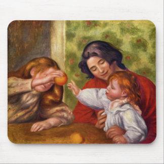 Renior - ilustraciones de la obra maestra tapete de ratón