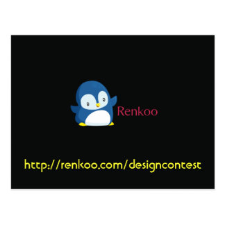 Renkoo Design Contest Postcard