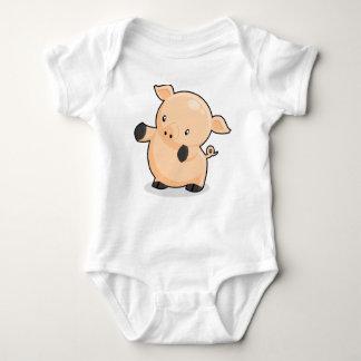 Renkoo Piggy! Baby Bodysuit