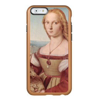 Rennaisance Unicorn and Lady Raphael Painting Incipio Feather Shine iPhone 6 Case