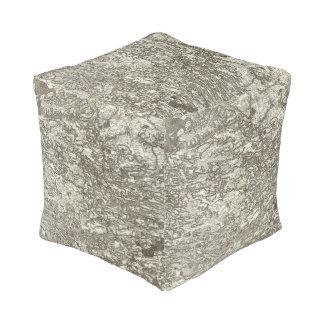 Rennes Cube Pouf
