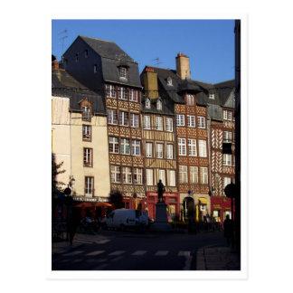 Rennes, Francia Postales