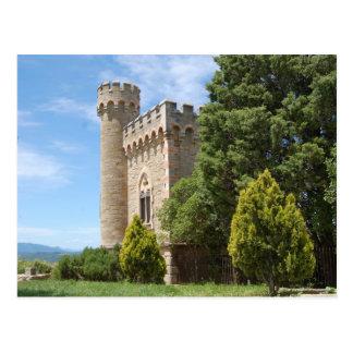Rennes Le Chateau Postcard
