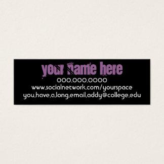 Rennie Mac Personal Contact Card