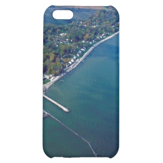 Reno Beach at Lake Erie Aerial Photograph Case For iPhone 5C
