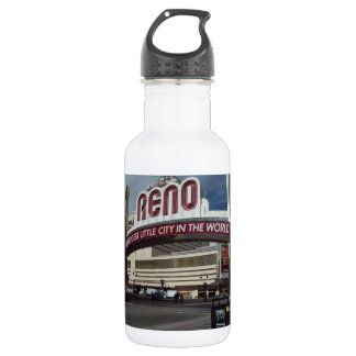 RENO Biggest Little City In The World Stainless Steel Water Bottle