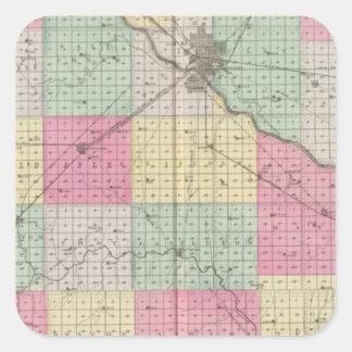 Reno Coand Plevna, Kent, Elmer, Kansas Stickers
