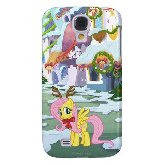 Reno de Fluttershy Funda Para Galaxy S4