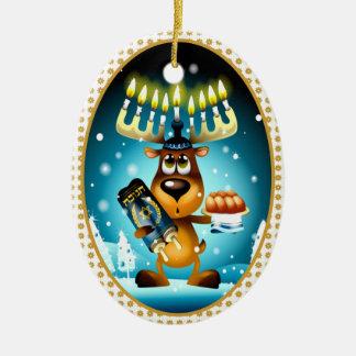 Reno de Jánuca Ornamentos De Navidad
