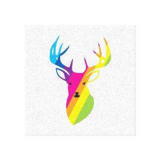 Reno del arco iris impresión de lienzo