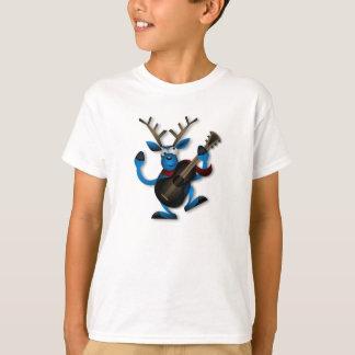 Reno del dibujo animado - camiseta de los niños