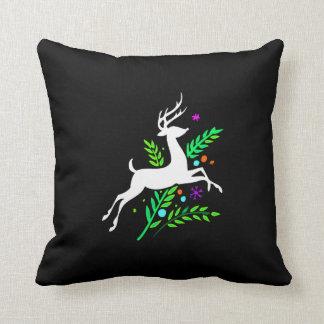 Reno del navidad almohada