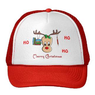 Reno del navidad del profesor--Regalos adorables Gorras De Camionero