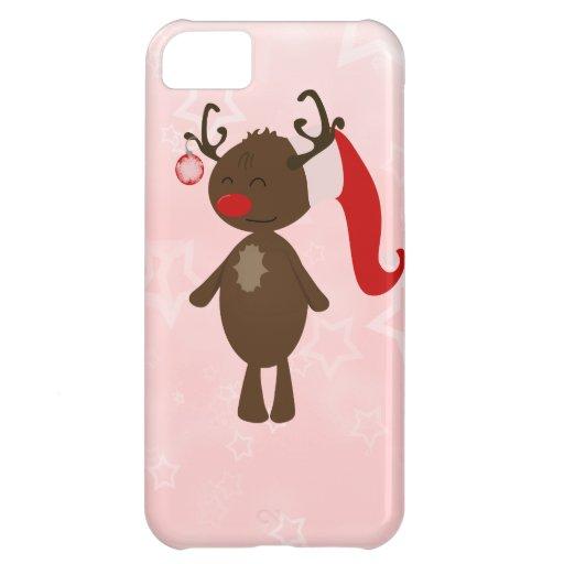 Reno del navidad funda para iPhone 5C
