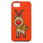 Reno del navidad iPhone 5 Case-Mate carcasa