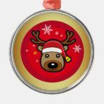 Reno del navidad ornaments para arbol de navidad
