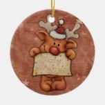 Reno del navidad - Rudolph Ornato