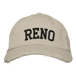Reno Embroidered Hat Embroidered Baseball Caps