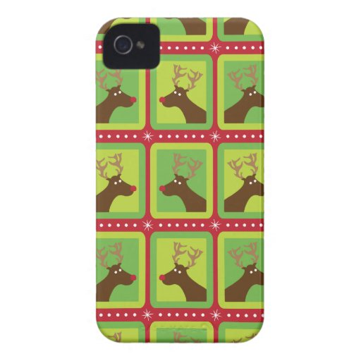 Reno festivo iPhone 4 Case-Mate cobertura